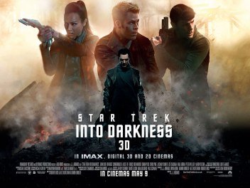 Star Trek Into Darkness movie poster