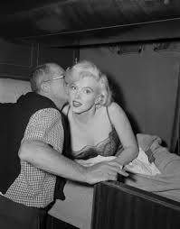 Marilyn, your motivation is to not fall out of that slip. Got it?